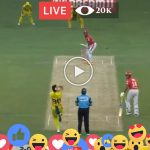 Today Live IPL Match CSK v KXIP 18th T20